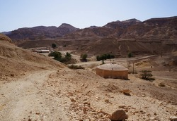 Abandoned military base in the mountains of Israel