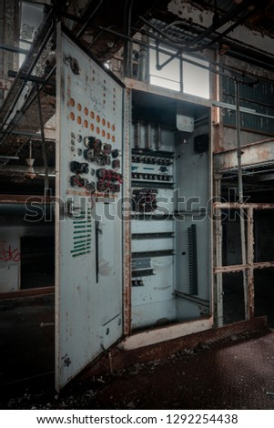Abandoned Old Factory  #1292254438