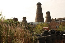 Abandoned pottery factory Stoke on Trent