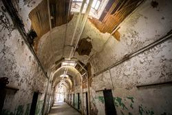 Abandoned Prison in Philadelphia Pennsylvania