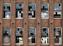 Abandoned silk mill, Lancaster Pennsylvania