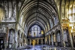 Abandoned St Agnes Church