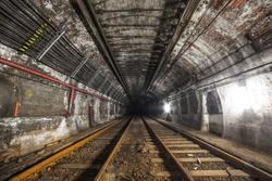 Abandoned Subway Tunnel