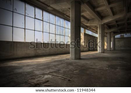 Abandoned Warehouse #11948344
