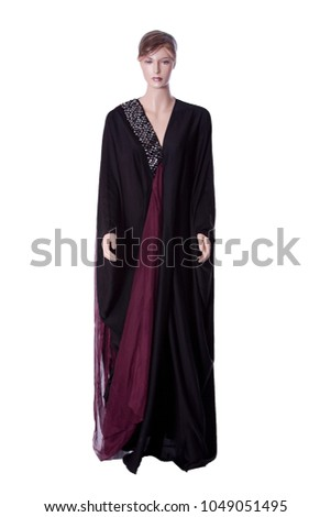 abaya shoot on mannequin