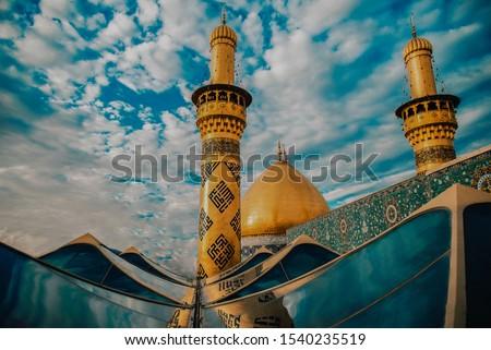 Abbasid threshold in Karbala, Iraq