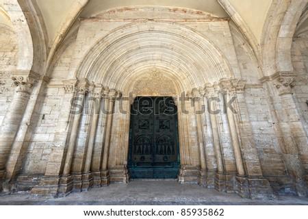 Abbey of Casamari (Frosinone, Lazio, Italy), the church
