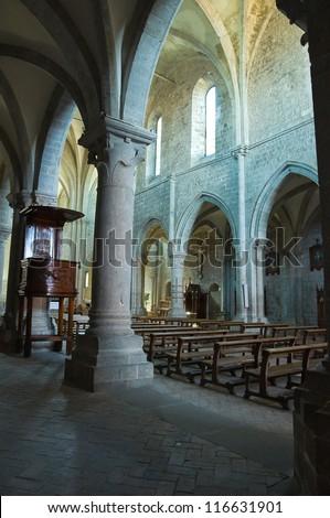 Abbey of San Martino al Cimino. Lazio. Italy. - stock photo