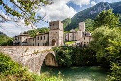 Abbey of San Vittore alle Chiuse Italy