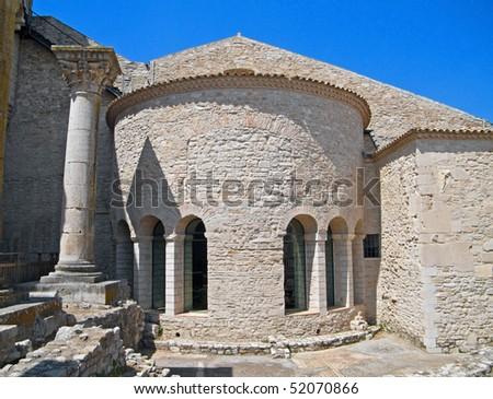 Abbey of the SS. Trinity. Venosa. Basilicata.