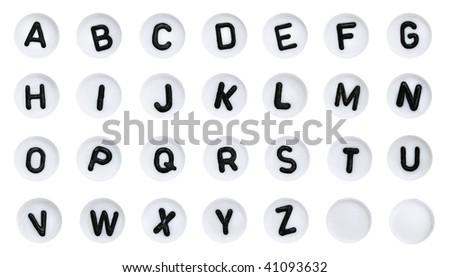 Alphabet Starts With Abc Abc Alphabet Buttons
