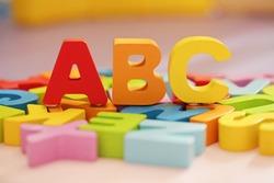 ABC - children's alphabet learning set