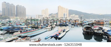 Aberdeen is famous to tourists for its floating village and floating seafood restaurants. Hong Kong