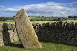 Aberlemno Pictish Stone in Scotland