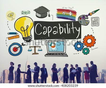 Ability Achievement Inspiration Improvement Capability Concept