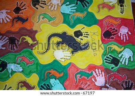 Aboriginal  on Aboriginal Art Stock Photo 67197   Shutterstock