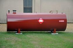 Above Ground fuel tank holding diesel fuel