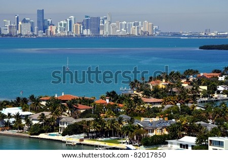 Above Key Biscayne
