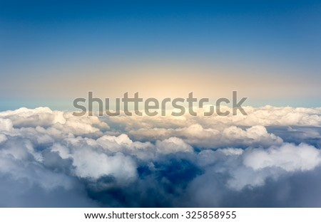 Above the clouds #325858955