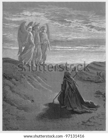 abraham and the three angels  ...
