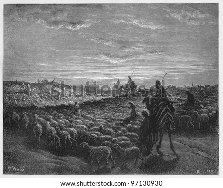 abraham journeying into the...