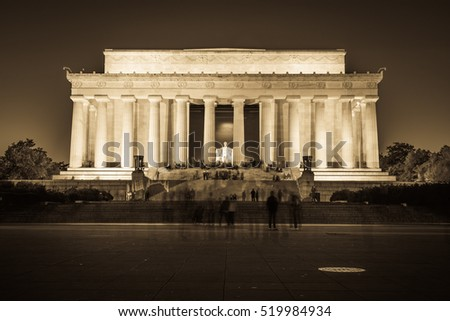 abraham lincoln memorial...