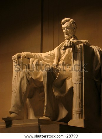 El Monumento de Abraham Lincoln, Washington D.C.