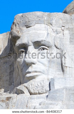 Abraham Lincoln on Mount Rushmore