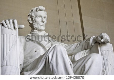 Abraham Lincoln Statue Stock photo ©
