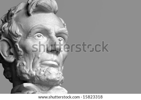 Abraham Lincoln, the sixteenth President of the United States.