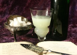 Absinthe and poetry
