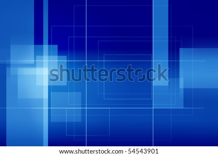 Absract and digital blue background