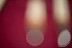 absrtact blurred red surface with bokeh