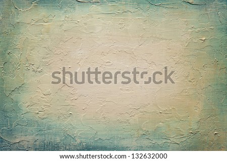 Abstract acrylic texture on canvas