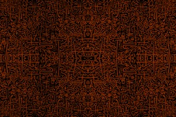 Abstract African Tribal vintage ethnic pattern ornamental / Abstract African Tribal pattern / African pattern