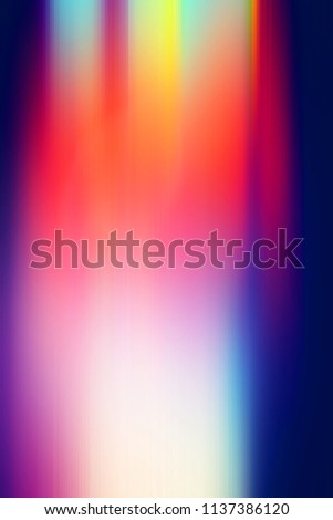 abstract and blurry background with bright colors