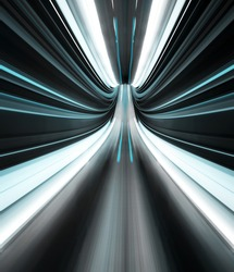 Abstract and toned image, indicating speed, launch and acceleration