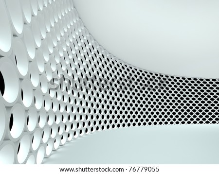 Abstract architectural 3d background