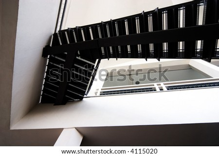 abstract architectural view