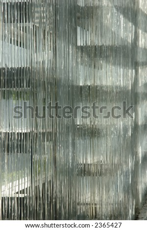 Abstract architecture interior in a business building