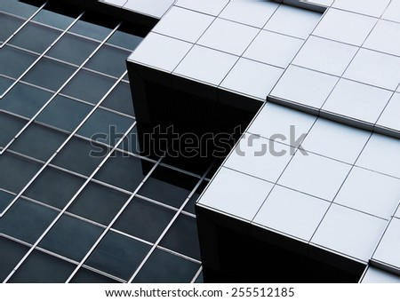 abstract architecture of a modern building #255512185