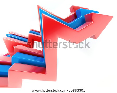Abstract Arrows. 3d