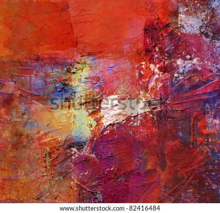 abstract art - acrylics and oils background