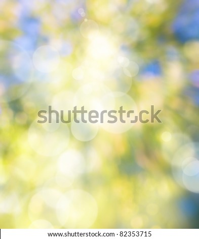 Abstract art autumn natural background