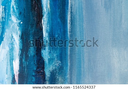 Abstract art background. Multicolored bright texture. Contemporary art. Oil painting on canvas. Fragment of artwork. Spots of oil paint. Brushstrokes of paint. Modern art.