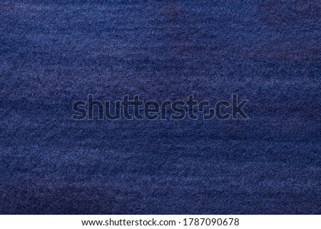 Abstract art background navy blue colors. Watercolor painting on canvas with soft azure gradient. Fragment of artwork on paper with indigo pattern. Texture backdrop.
