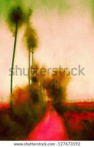 abstract art background painting