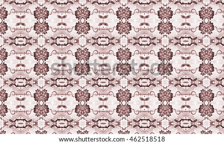 Abstract art classic luxury and elegant style pattern background in popular modern design trend. #462518518