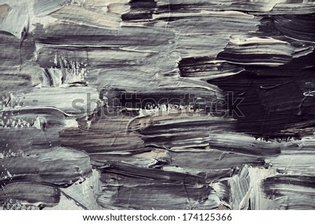 Abstract Art Original Oil Painting Background