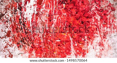 abstract art painting dripping effect illustration